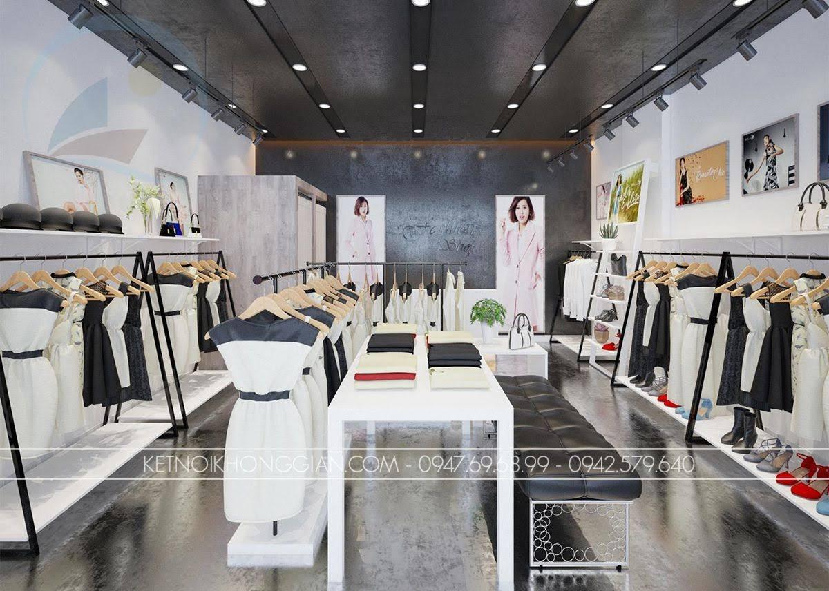 mẫu thiết kế shop thời trang giá rẻ số 1 - 1