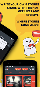 Scary, Love Chat Stories Mod Apk Offline Chat Story (No Ads) 3