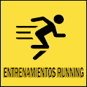 Entrenamientos running icon
