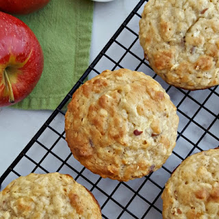 Apple Oatmeal Muffins.