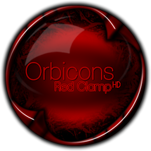 download Clamp Red HD Orbicons Icons apk