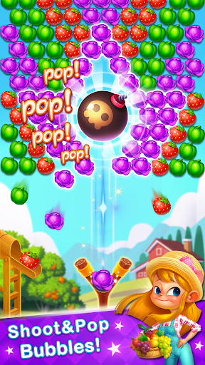 Bubble Farm - Fruit Garden Pop screenshots 3