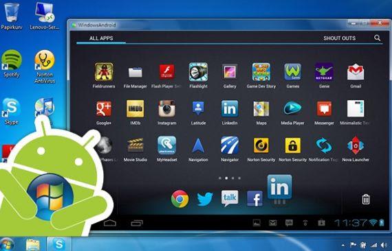 Come usare le app Android in Windows