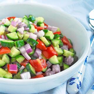 Salad Shirazi.