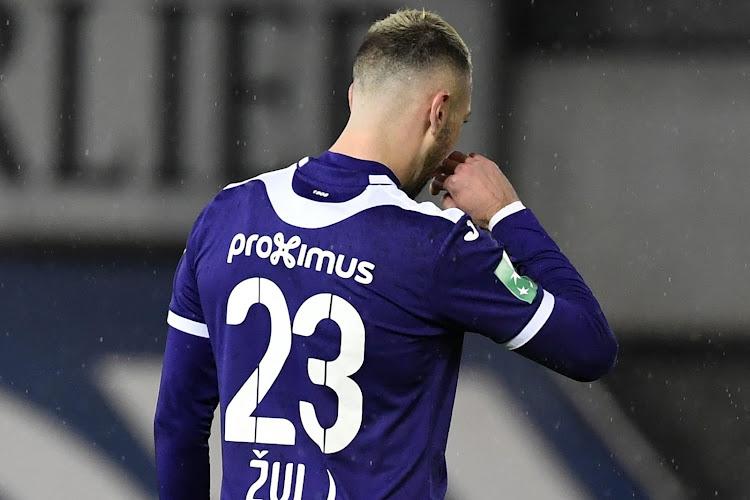 """Zulj bijna overladen met alle zonden van Anderlecht: """"Hij moet die bal daar ook niet krijgen hé"""""""