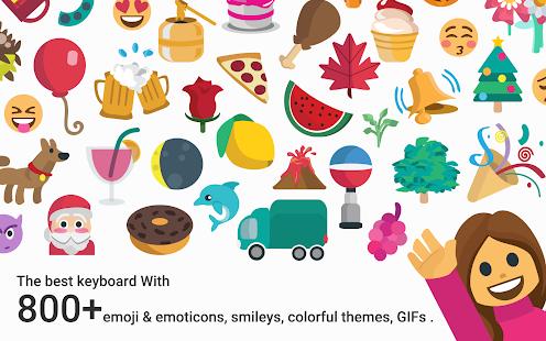 Rose-Gold-Emoji-Kika-Keyboard 5