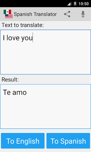 Screenshot for Spanish English Translator Pro in Hong Kong Play Store