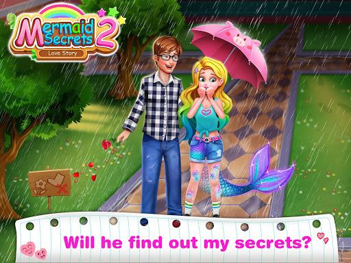 Mermaid Secrets2- Mermaid Girl First Crush screenshot