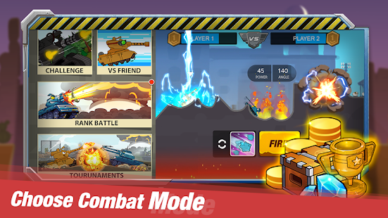 Tank Heroes - Tank Games,Tank Battle Now Screenshot