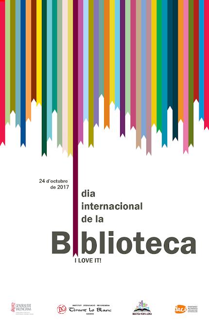 24 D'OCTUBRE - DIA INTERNACIONAL DE LA BIBLIOTECA