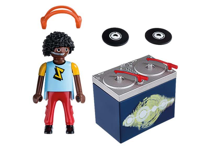 Contenido real de Playmobil® 5377 DJ