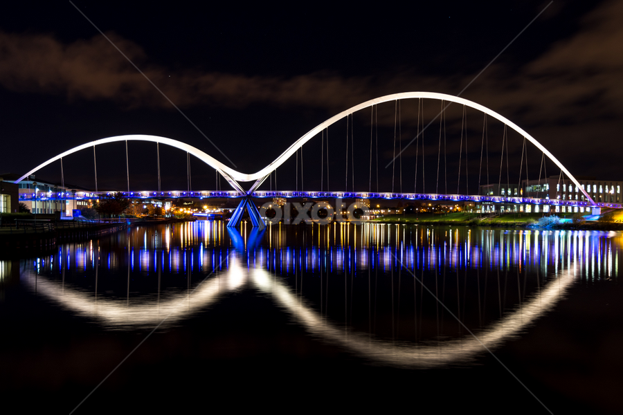 The Infinity Bridge, Stockton on Tees by Phil Reay - Buildings & Architecture Bridges & Suspended Structures ( tees, water, bridge, infinity, river,  )