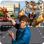 Wild Animal City Attack