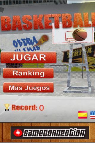 Скриншот баскетбол 3D Basketball