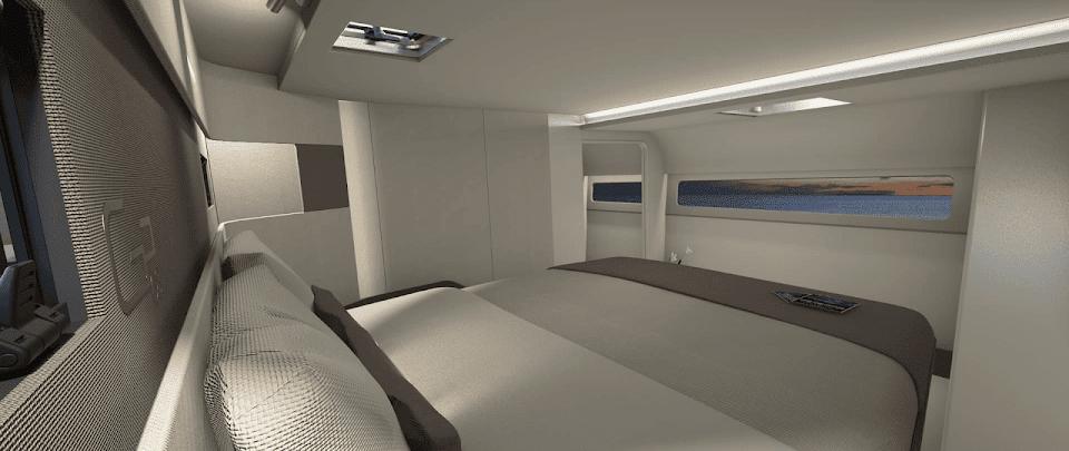 Gunboat 68 Master Cabin
