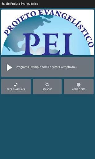 Rádio Projeto Evangelístico