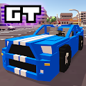Blocky Car Racer - free racing game icon