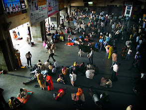 Photo: Whose is That cattle? だれのウシ? in Varanasi Station India