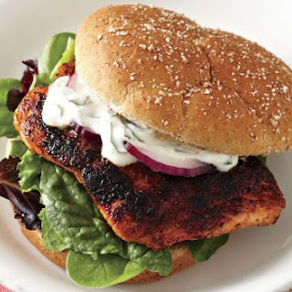 Coffee Rubbed Salmon Sandwiches