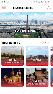 ✈ France Travel Guide Offline - náhled