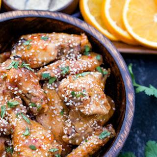Orange Juice Chicken Wings Recipes