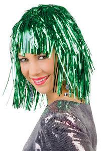 Glitterperuk, grön
