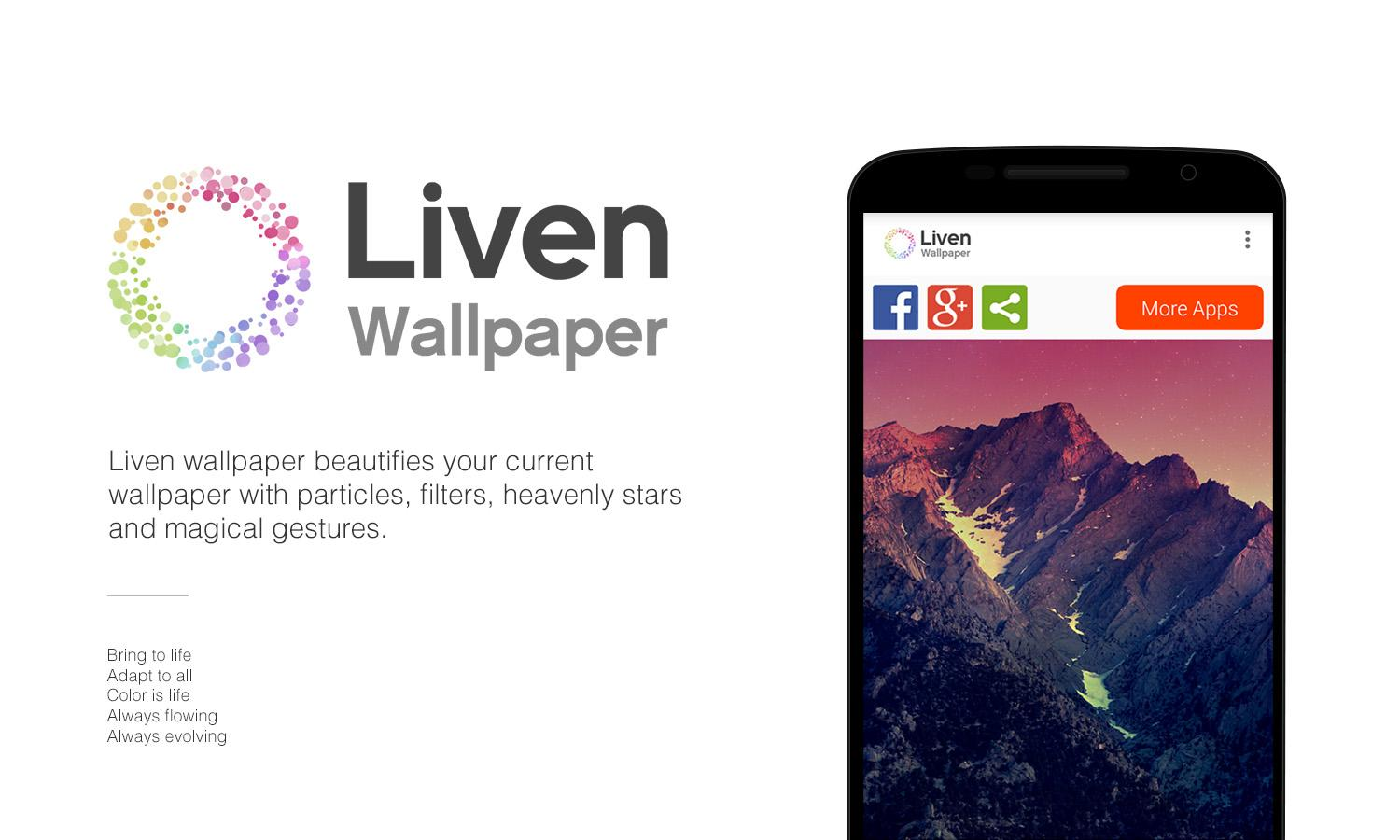 Liven Wallpaper- screenshot
