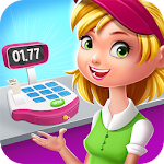 Supermarket Manager: Cashier Simulator Kids Games Icon