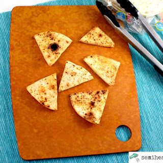 Spicy Lime Homemade Tortilla Chips