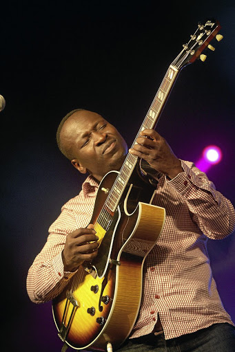Selaelo Selota can move from frenzied stage performances to mellow guitar-led song renditions.