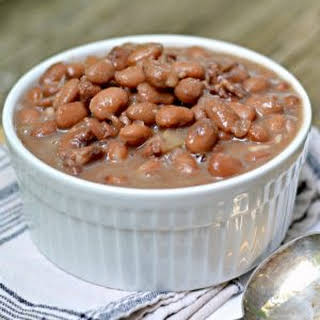 The Secret to Perfect Old Fashioned Pinto Beans.