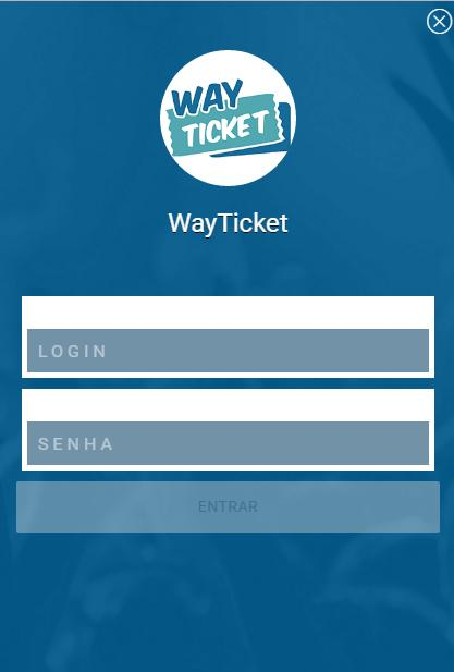 WayTicket Produtor- screenshot