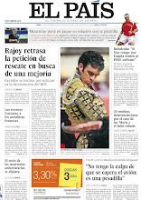 """Photo: Rajoy retrasa la petición de rescate en busca de una mejoría, Rubalcaba: """"Si Mas rompe con España tendrá al PSOE enfrente"""", 20 médicos deberán declarar por el caso de sor María y el bebé robado, los recortes fracturan a los socialistas franceses, el coste de las matrículas se dispara y Felipe García, mecánico del JK5022: """"No tengo la culpa de que se cayera el avión; es una pesadilla"""", en nuestra portada del lunes 17 de septiembre de 2012 http://srv00.epimg.net/pdf/elpais/1aPagina/2012/09/ep-20120917.pdf"""