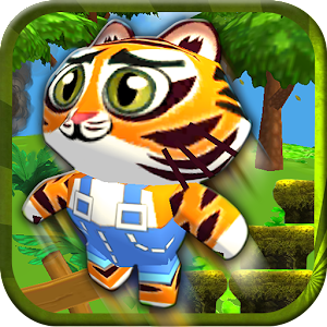 Baby Pet Run: Jungle Adventure
