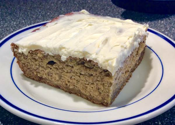 Spiced Banana Cake Recipe