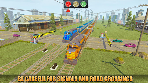 Indian Train Racing Simulator Pro: Train game 2019 image | 11