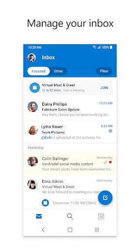 Microsoft Outlook: Organize Your Email & Calendar 4.2039.2 screenshots 1
