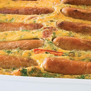 Sausage Frittata.