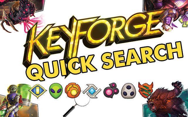KeyForge Quick Search
