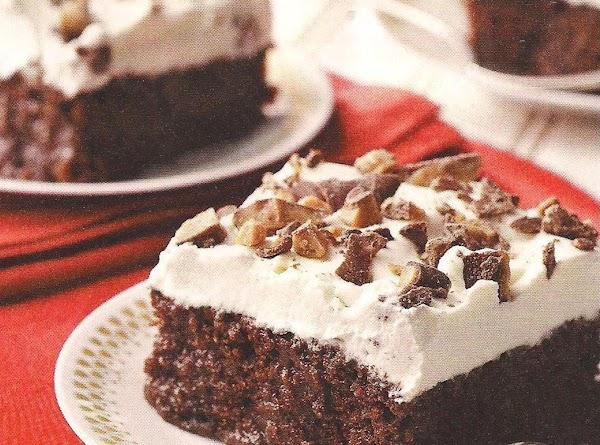 Caramel Soaked Chocolate Cake Recipe