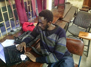 Photo: Nobert, popularly known as JSON, an advanced android student developer
