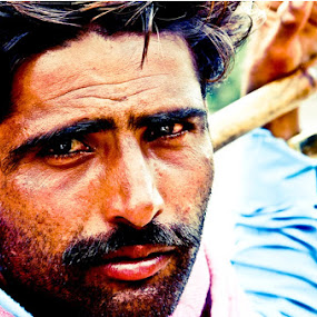 by Arun Acharya - People Portraits of Men