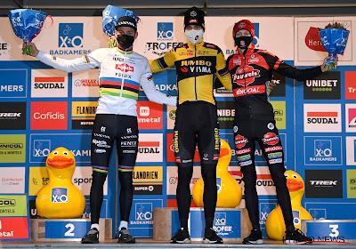 """Vanthourenhout 'best of the rest' en dus weer op podium: """"Mathieu reed heel snel en ik moest eigen tempo kiezen"""""""
