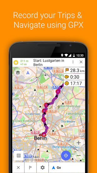 OsmAnd+ Maps & Navigation- screenshot thumbnail