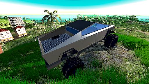 Télécharger 4x4 Off-Road Truck Simulator: Tropical Cargo APK MOD (Astuce) screenshots 5