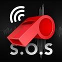 Whistle S.O.S: whistle sounds icon