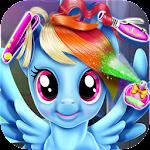 Rainbow Pony Hair Salon
