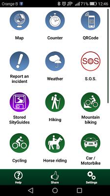 SityTrail World - hiking GPS - screenshot