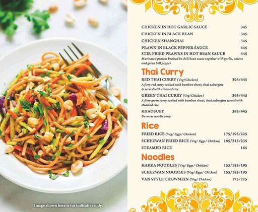 Masala Asia menu 6