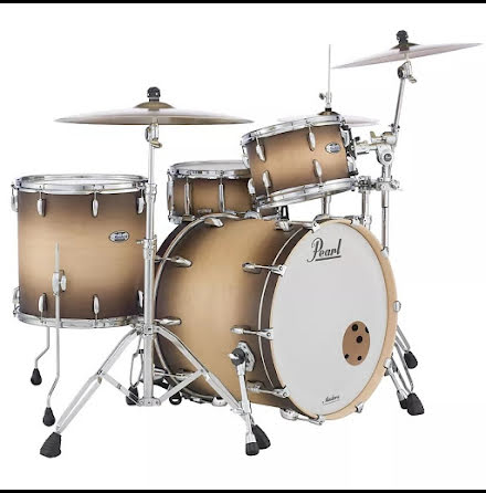 Pearl Masters Maple Complete - MCT923XSP/C351 - Satin Natural Burst